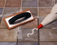 Home Improvement - caulking tile