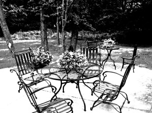 Grand Rapids, MI Summer on the patio deck