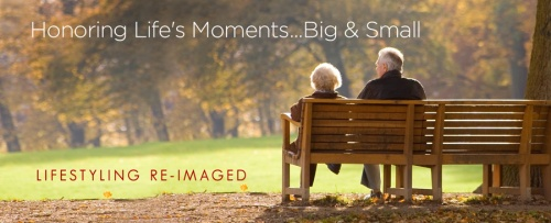 Honoring Life's Moments bench