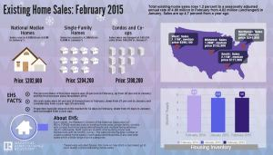 February Existing Home Sales Capture