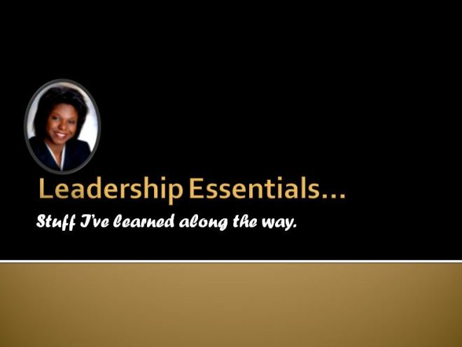 Leadership Essentials Capture
